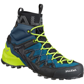 SALEWA Wildfire Edge GTX Mid Shoes Herr poseidon/cactus